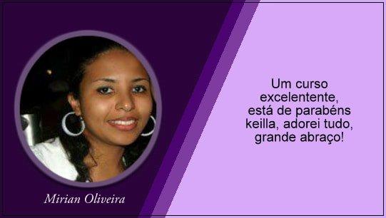 Depoimento Mirian Oliveira
