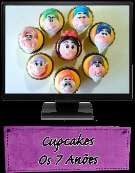 Cupcakes Os 7 Anões
